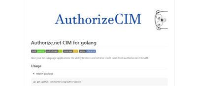 Authorize.net Subscription with Go Language