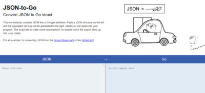 Go Language JSON to Struct